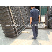 2.4x6m fábrica Refuerzo de acero soldado malla