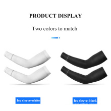 Sun Protection Sleeves Summer Men and Women UV Protection Riding Outdoor Ice Cool Arm Guard Sleeves Ice Silk
