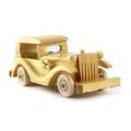 modelo promocional de madeira mini carro brinquedo