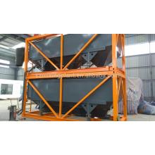 Silo de cemento móvil para la exportación