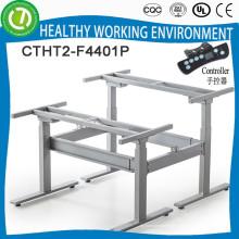 Офисный стол регулируемые по высоте и складные ножки стола для 2 человек