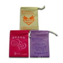 Promotional Drawstring Bags, Made of Velvet Fabric, Measures 20 x 15cm