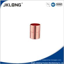 J9001 acoplamento igual de cobre 1 polegada cobre encaixe de tubulação
