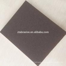 Gute Leistung Importiertes PVC-materielles abrasives WET & DRY Schleifschwamm-wasserdichte Schleifblöcke 120 * 100 * 15mm