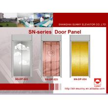 Panel de la puerta del elevador con patrón de estilo chino (SN-DP-322)