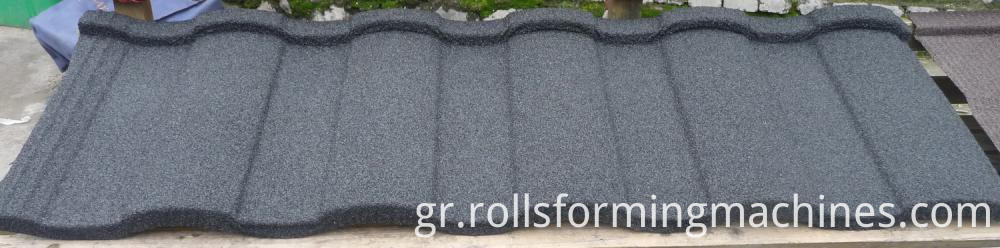 Roman for Stone Coated Metal Roof Tile Machine