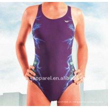 Projete suas próprias mulheres sutiã acolchoado swimsuit, mulheres swimwear, maiô de uma peça