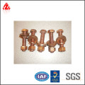 China supplier copper bolt and fastener(bolt and nut)