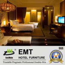 Modernes gemütliches Hotel-Schlafzimmer-Möbel-Set (EMT-HTB08-1)