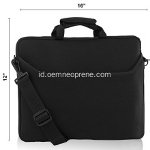 Disesuaikan Profesional Neoprene Backpack Laptop Sleeves