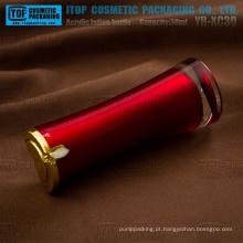 YB-XC30 loção do 30ml interior pintado cor personalizável delicada e perfeita 1oz bomba rubi frasco acrílico