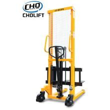 Goods high definition for Standard Hand Stacker,Manual Stacker,Narrow Aisle Stacker Truck Manufacturers and Suppliers in China 1T Standard Hand Stacker 1.6M lift height supply to Guyana Suppliers