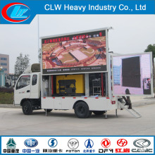 P6 P8 P10 Full Color Display LED Advertising Truck