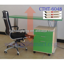 Kladno adjustable height corner desk&Most adjustable height desk &Karvina siting -standing desk