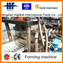 Plataforma de andaime Plataforma de bancada Rollformer Navio Pedal Roll formando a máquina