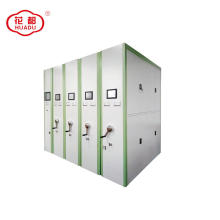 Steel mobile File Compactor library shelves system