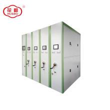 Sistema de prateleiras de bibliotecas de compactadores de arquivos móveis em aço