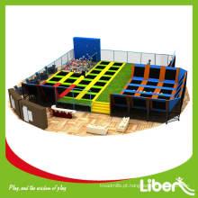 Liben comercial grande parque de trampolim de voo
