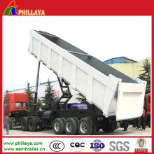 Dumper hydraulique de camions de remorque de camion de benne à vendre