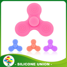 Promotional New product custom silicone fidget spinner