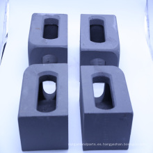 Fábrica personalizada precisión acero de fundición ISO 1161 esquinas del contenedor 122010