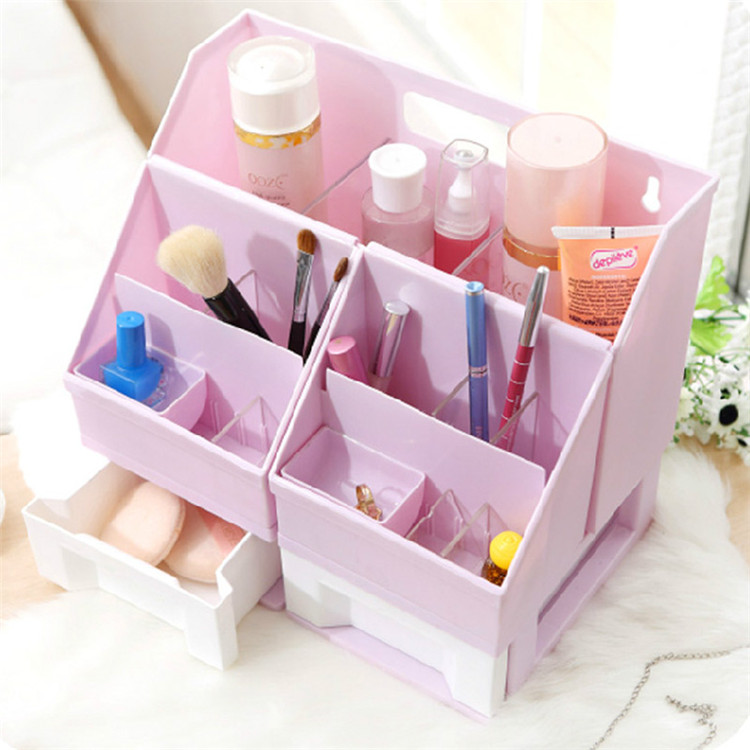 DIY Plastic Cosmetic Box