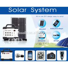 Fornecedor profissional! Geradores solares portáteis sistemas de energia solar