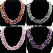 Wholesale fashion jewelry tumbled gemstone loose beads