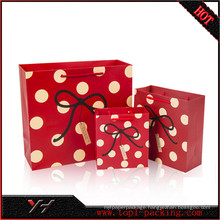 Yonghua Best Quality Red Gift Bags
