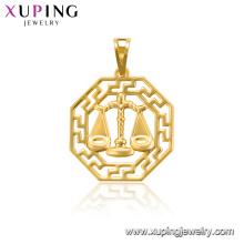 33851 xuping jewelry copper alloy 12 horoscope animals figure pendant