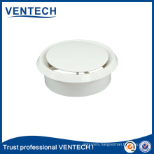round plastic diffuser for Ventilation plastic disc valve air disk valve