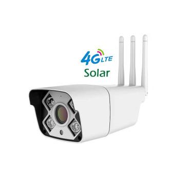 Outdoor Wireless 3G 4G SIM Card IP Camera Solar Power Optional