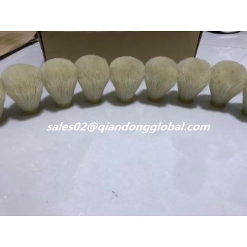 24mm Zachte Bulb Shape Horse Hair Knots