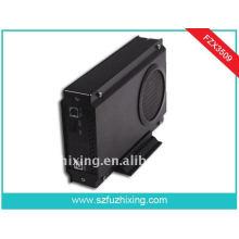 Большой вентилятор USB3.0 3,5-дюймовый SATA HDD Enclosure