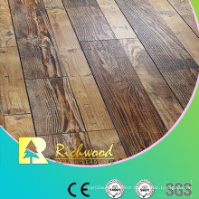 12.3mm E0 HDF AC4 Embossed V-Grooved Sound Absorbing Laminate Flooring
