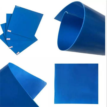 Geomembrana de HDPE de color azul estándar ASTM de 2.5 mm