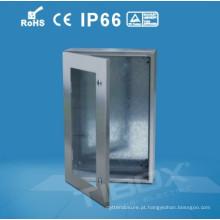 Placas de distribuição de aço inoxidável de porta vidrada