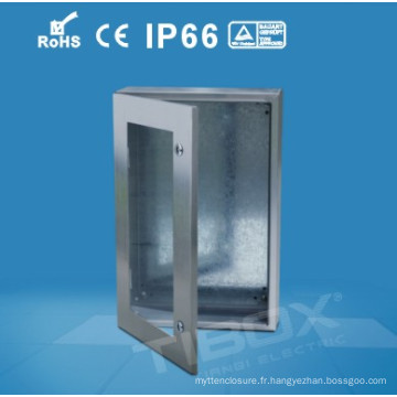 2014 Hot Selling Stainless Steel with Glazed Door Box