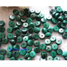 Natural Malachite Round Beads for Jewelry Setting