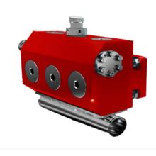 Acessórios de montagem de extremidades de fluido 600s
