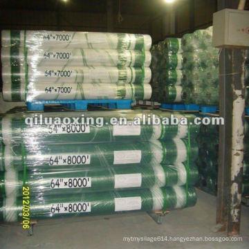 Round HDPE baler net wrap