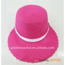 Chapéus de viseira para senhoras rosa senhoras