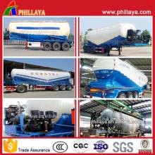 20-60m3 Bulk Zement Pulver Tank Auflieger