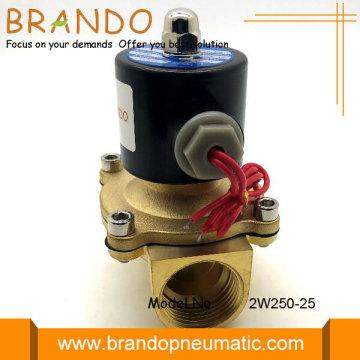 2W Brass Series Solenoid Valve 2W250-25