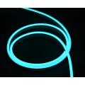 Гибкая неоновая полоска светло-голубого цвета