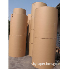 100% Wood Pulp Kraft Paper in Brown with The Competitive Price