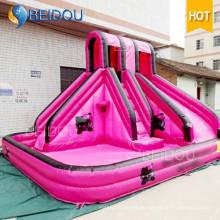Diapositiva inflable gigante popular de la diapositiva inflable del adulto inflable