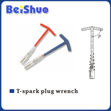 T-Spark Plug T Handle Universal Wrench with Spring