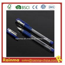 Ручка с голубым гелем для офиса