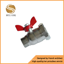 Brass Gas Ball Valve with Aluminum Butterfly Handle (TFB-010-04)